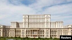 Clădirea PArlamentului la București