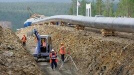 Oleoductul siberian în direcția Asiei