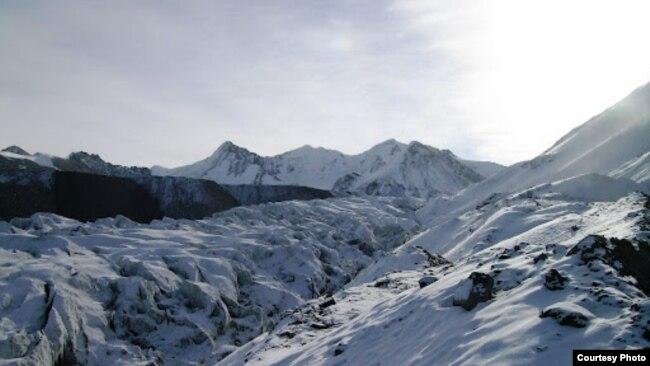 Ледник Давыдова. Архивное фото.