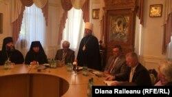 Capii Bisericii Ortodoxe şi conducerea Academiei de Ştiinţe