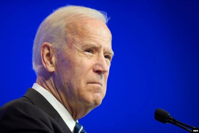 Kandidati presidencial, Joe Biden.