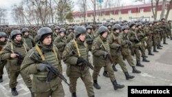 Pripadnici Nacionalne garde Ukrajine