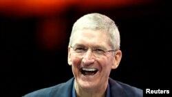 Apple şirkətinin rəhbəri Tim Cook