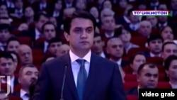 Рустам Эмомали, сын президента Таджикистана Эмомали Рахмона.