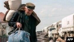 Civili napuštaju Hrvatsku, maj 1995. godine