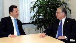 Средба на Груевски со претходниот грчки премиер Пападемос, Брисел, 1-ви март 2012.