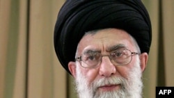 Supreme Leader Ayatollah Ali Khamenei said he has not seen any proof that the leaders of opposition protests that broke out after the disputed June presidential election were working for foreign powers.