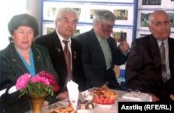 Галия Абайдуллина, Зыятдин Низамов, Искәндәр Янтимиров, Заһит Акбүләков - җирле иҗат әһелләре