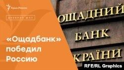 «Ощадбанк» победил Россию   Радио Крым.Реалии