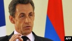 Nicolas Sarkozy Ermənistanda, 7 oktyabr 2011