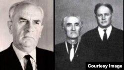 Зліва направо: Мустафа Селімов, Джеппар Акімов, Бекір Османов