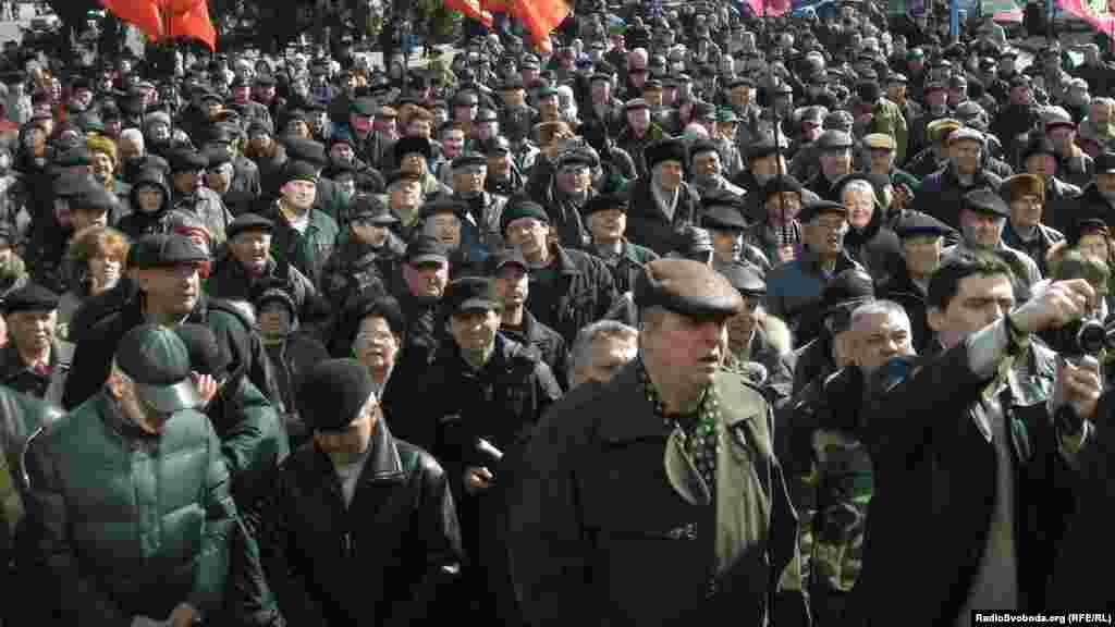 Підтримати черкаських афганців приїхали воїни-інтернаціоналісти з різних областей України