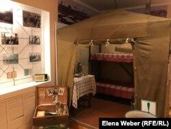 Выставка в музее Темиртау, посвященная восстанию рабочих 1959 года. 8 августа 2019 года.