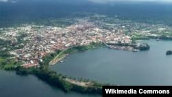 آرشیف، نمایی از پایتخت گینه استوایی