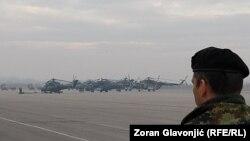 Novi helikopteri na Aerodromu u Batajnici