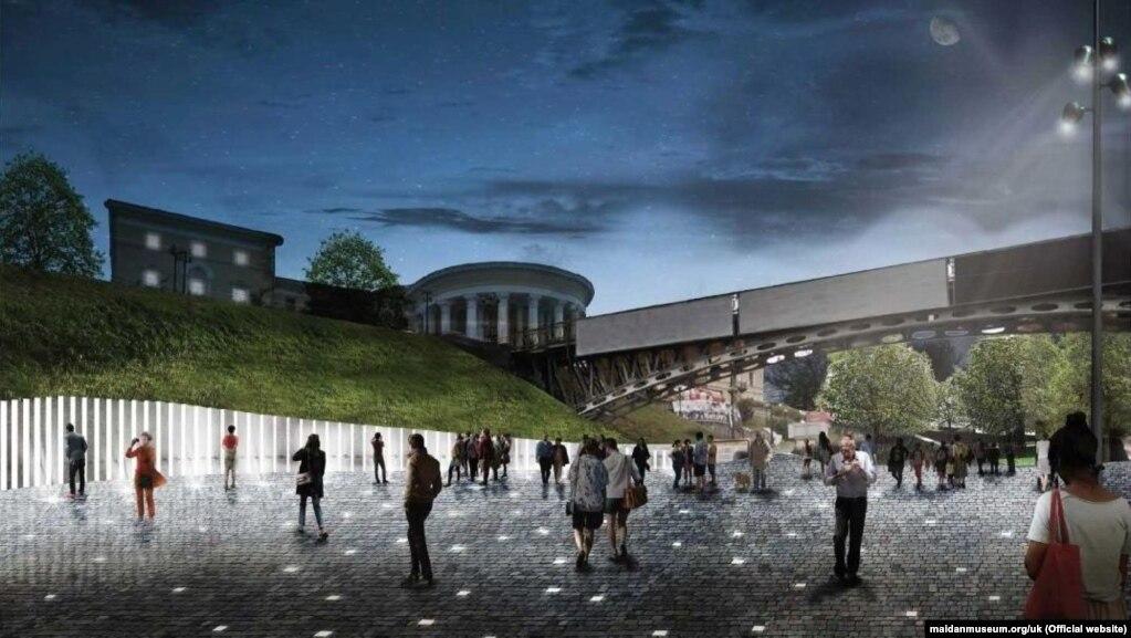 Переможець відкритого архітектурного конкурсу проєктів щодо об'єкта «Національний меморіальний комплекс Героїв Небесної Сотні – Музей Революції гідності» (2019 рік)