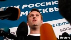 Рус мухолифатчиси Алексей Навальний.