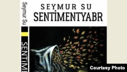 "Book cover of ""Sentimentyabr"" by azeri poet Seymur Su."