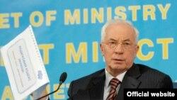 Микола Азаров під час прес-конференції представив проект Податкового кодексу, 3 вересня 2010 року