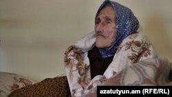 Osmanly türkler döwründe bolan gyrgynçylykdan aman galan Guýna Markossian, 109 ýaşynda. 24-nji aprel, 2019.