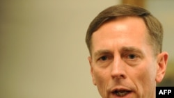 General David Petraeus leads the U.S. military's Central Command