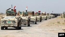 Իրաքի զինված ուժերը Ֆալուջա քաղաքի հարավային ալ-Շուհադա արվարձանի մատույցներում, 3-ը հունիսի, 2016թ․