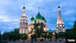 Церковь Ильи Пророка, визитная карточка старого Ярославля