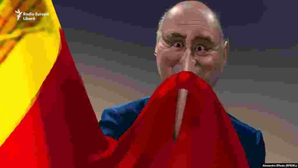 2016 a început cu Pavel Filip sărutând a câta oară drapelul. De data aceasta - nu ca ministru simplu, ci ca prim-ministru.