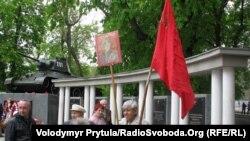 Прихильник Сталіна у Сімферополі, 9 травня 2011 року
