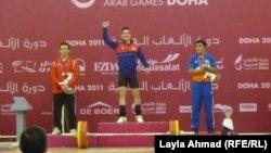 كرار محمد أحد الفائزين بذهبية دورة الدوحة