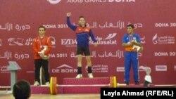 كرار محمد يحصل على ذهبية وزن الـ62 كلغم