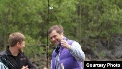 Кадыров и Сурков на рыбалке в Итум-Калинском районе Чечни