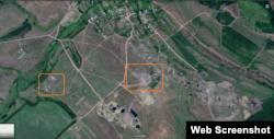 Позиції угруповання «ДНР» поблизу н.п. Покровка