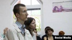 Украинский гражданский активист Александр Кольченко