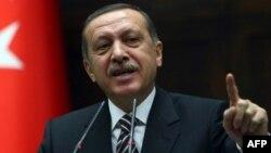 Турскиот премиер Реџеп Таип Ердоган.