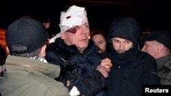 Екс-міністр внутрішніх справ Юрій Луценко отримав черепно-мозкову травму внаслідок дій «беркутівців»