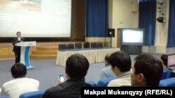 Астанада өткен интернет-форум. 22 желтоқсан 2012 жыл.