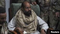 Сейф аль-Ислам Каддафи после ареста