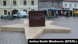 Spomenik posvećen hrvatskom ulasku u Europsku uniju