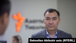 Равшан Жээнбеков. Архивдик сүрөт.