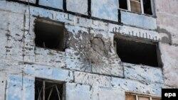 Авдіївка після обстрілу, 3 лютого 2017 року