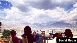 Rich kids of Tehran Instagram photo. Undated