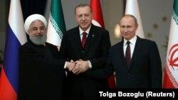 Ռուսաստանի, Իրանի և Թուրքիայի նախագահների հանդիպումներից, արխիվ