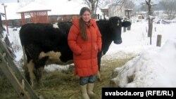 Людміла Каржанеўская, прыватная гаспадыня зь вёскі Масткі Гарадзенскага раёну