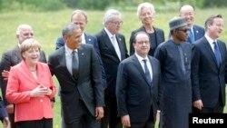 """Саммит """"Группы 7"""" в Германии (июнь 2015 года)"""