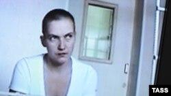 Надія Савченко у суді в Росії, архівне фото