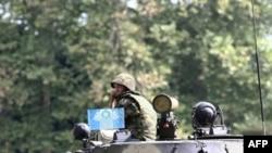 Poti yaxınlığında Rusiyanın nəzarət-buraxılış məntəqəsi, 10 sentyabr 2008