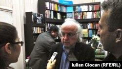 Moldova/Romania/US - Norman Manea, Romanian-American writer, Chisinau
