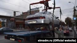 Эвакуация авто в Симферополе