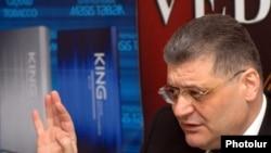 Лидер партии «Новые времена» Арам Карапетян